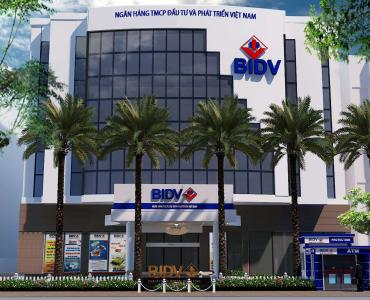 Ngân hàng BIDV – tòa nhà Green Power, Q.1, Tp. HCM