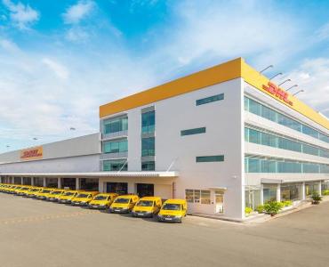 Văn phòng & kho bưu phẩm DHL – Hà Nội, Tp. HCM, Đồng Nai