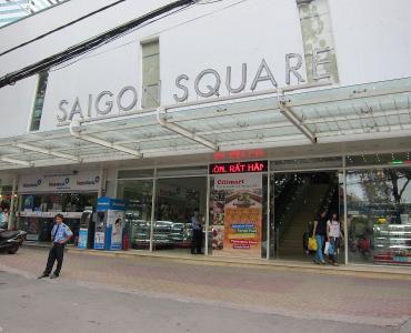 Trung tâm mua sắm Saigon Square – Q.1 & Q.3, Tp. HCM