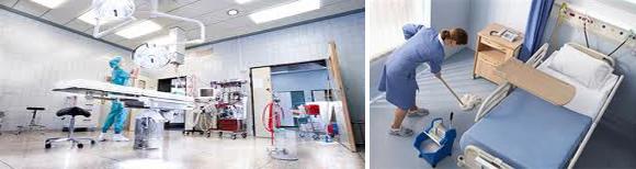 vệ sinh bệnh viện, ve sinh benh vien