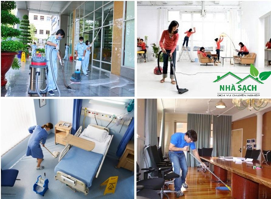 Vệ sinh công nghiệp tại Nha Trang