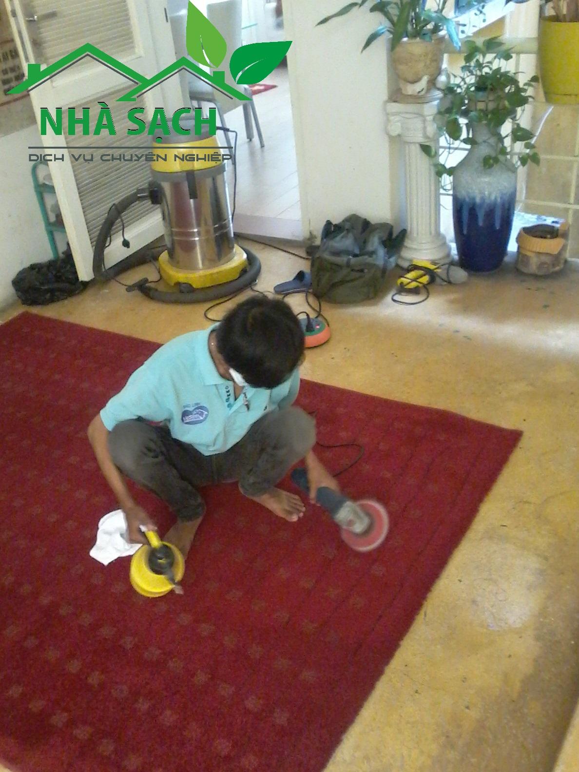 Dịch vụ giặt thảm quận 12