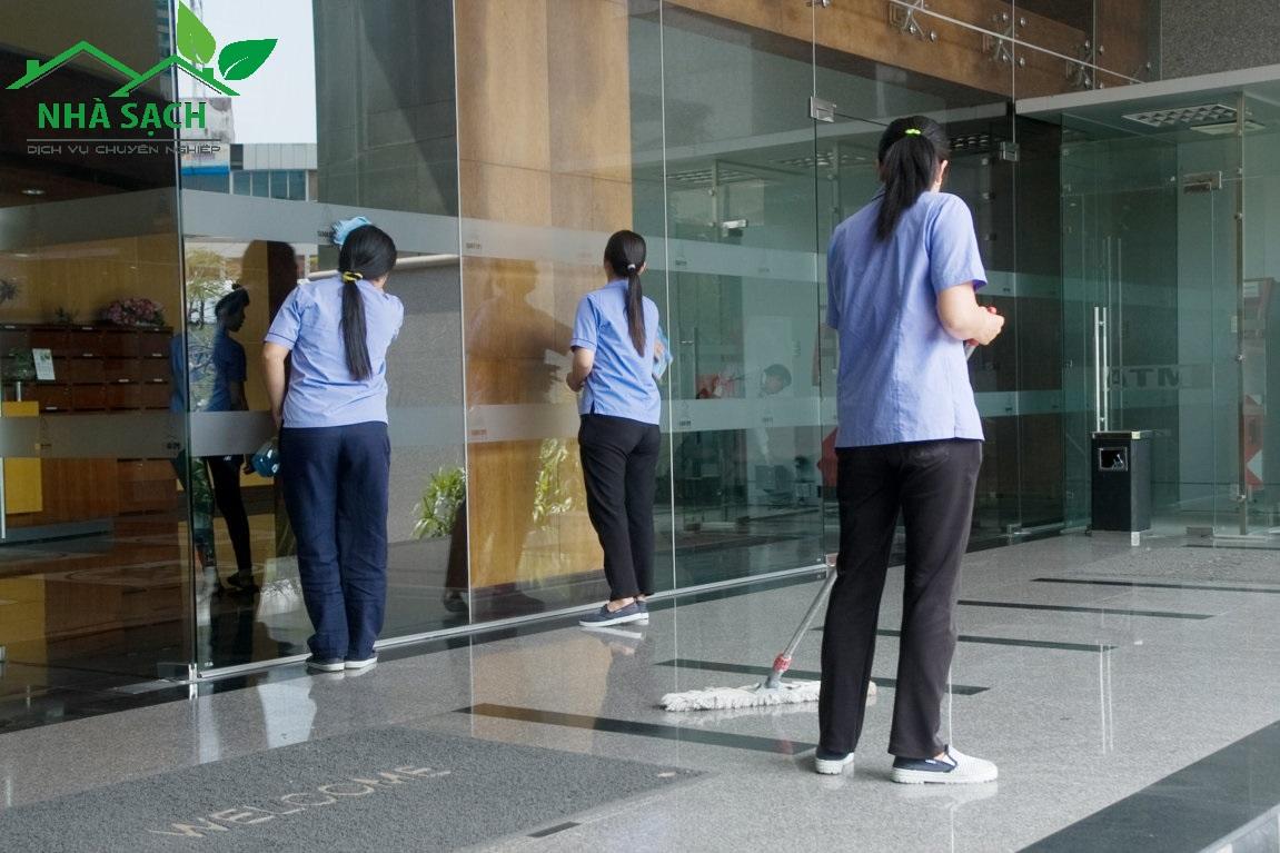 Dịch vụ vệ sinh công nghiệp tại quận Củ Chi Tphcm