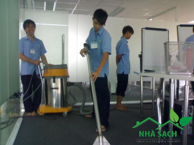 Dịch vụ vệ sinh quận Gò Vấp