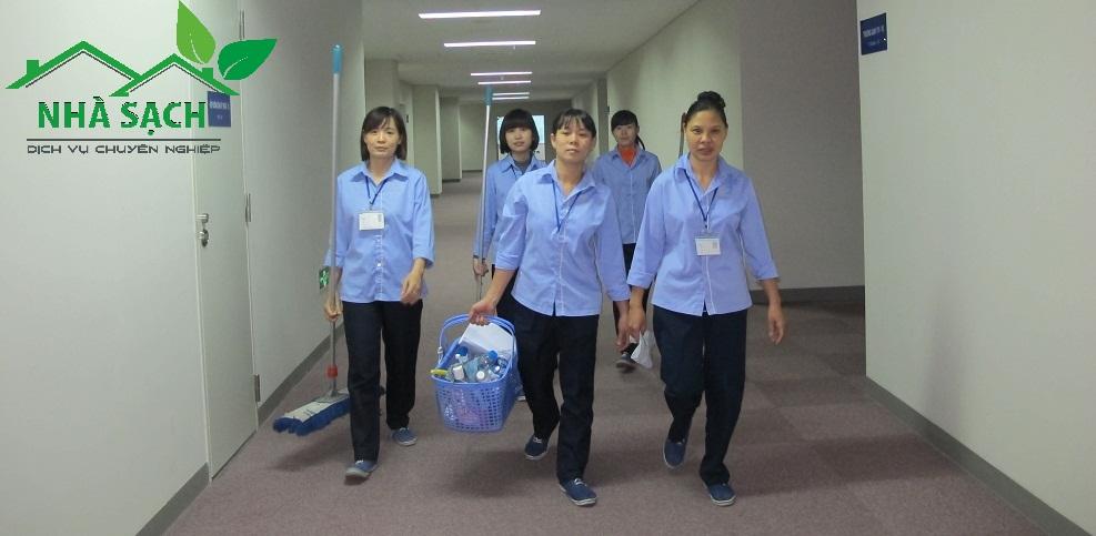 Dịch vụ vệ sinh công nghiệp tại chi nhánh Cần Thơ