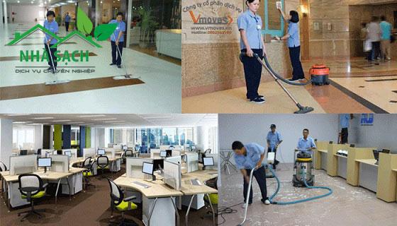 Dịch vụ dọn vệ sinh văn phòng