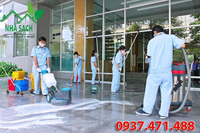 Các bước cơ bản vệ sinh công trình sau xây dựng, cac buoc co ban ve sinh cong trinh sau xay dung