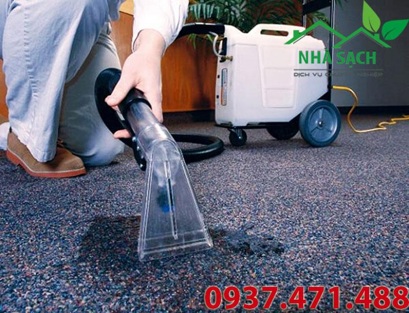 Hướng dẫn quy trình giặt thảm bằng máy giặt thảm phun hút, huong dan quy trinh giat tham bang may giat tham phun hut