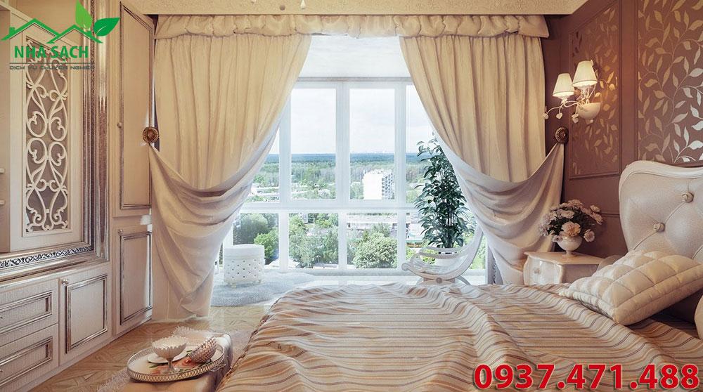 Hướng dẫn giặt rèm cửa siêu sạch tại nhà, guong dan giat rem cua sieu sach tai nha