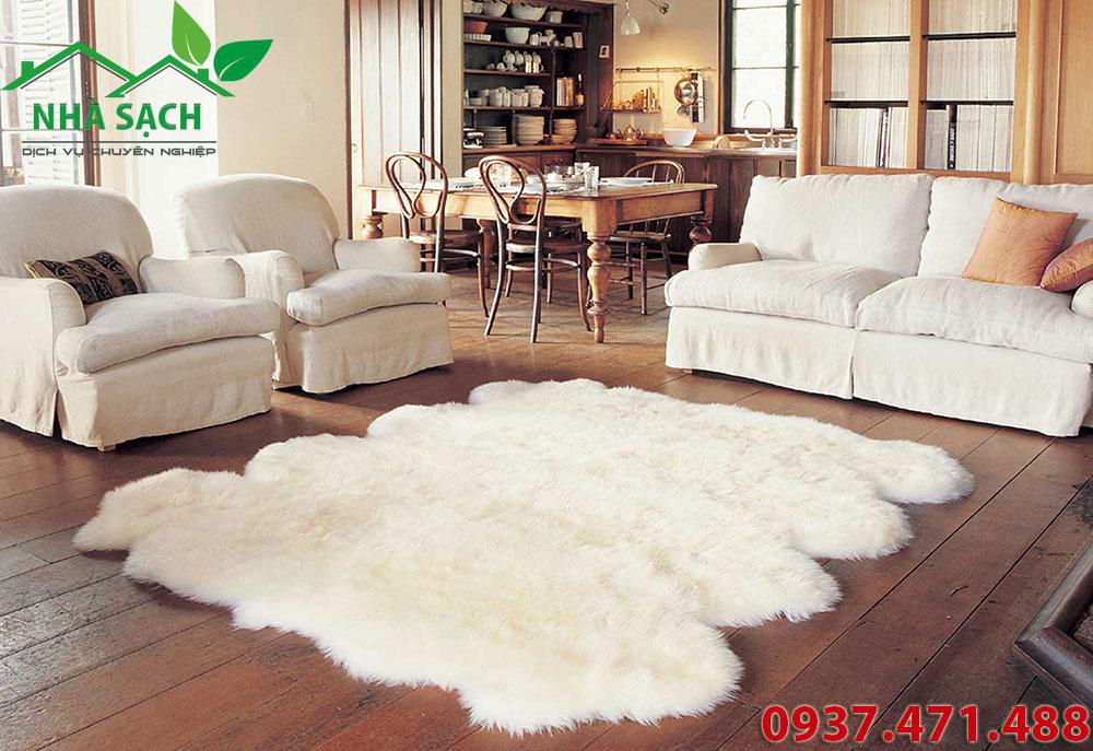 Bí kíp Cách giặt thảm lông cừu tại nhà sạch như mới, bi kip cach giat tham long cuu tai nha sach nhu moi