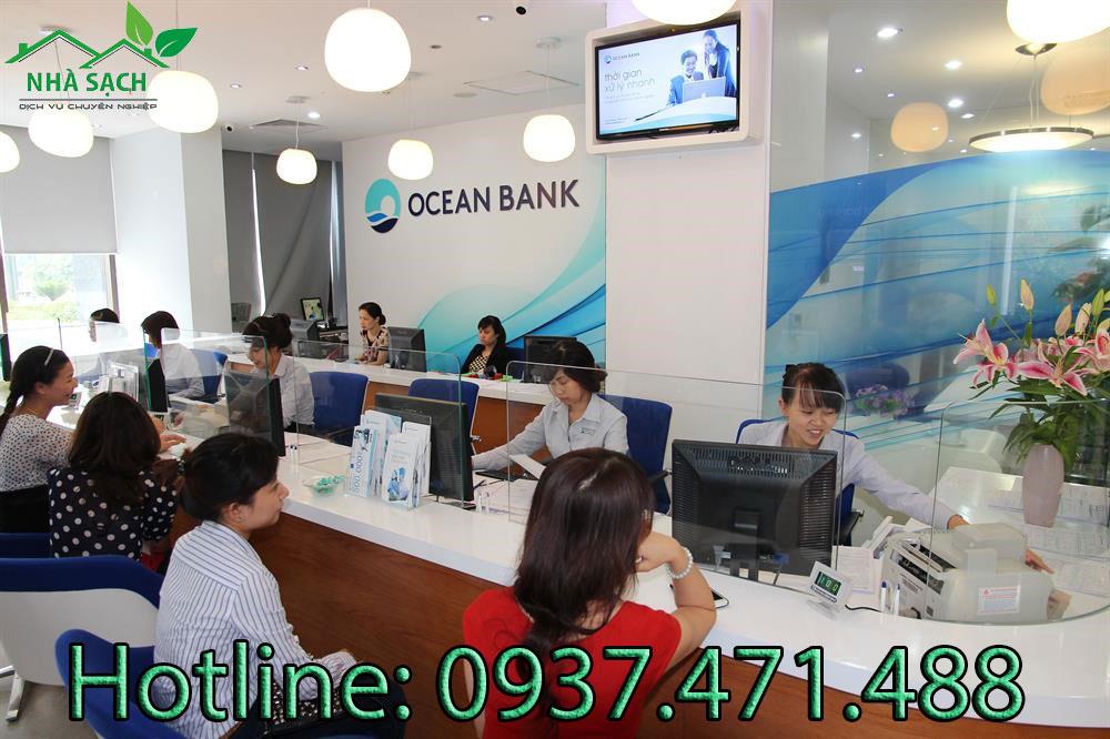 Dịch vụ vệ sinh ngân hàng Ocean Bank, dich vu ve sinh ngan hang Ocean Bank