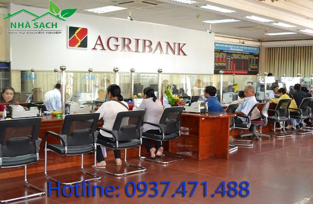 vệ sinh ngân hàng agribank, ve sinh ngan hang agribank
