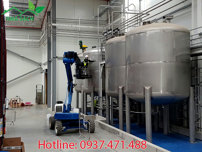 Dịch vụ vệ sinh công nghiệp chất lượng