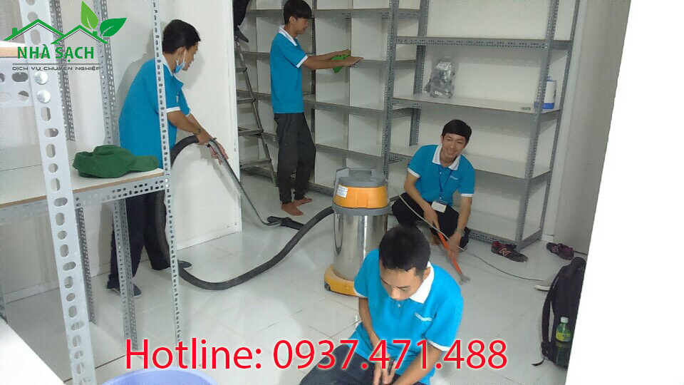 Dịch vụ vệ sinh chất lượng tại tphcm