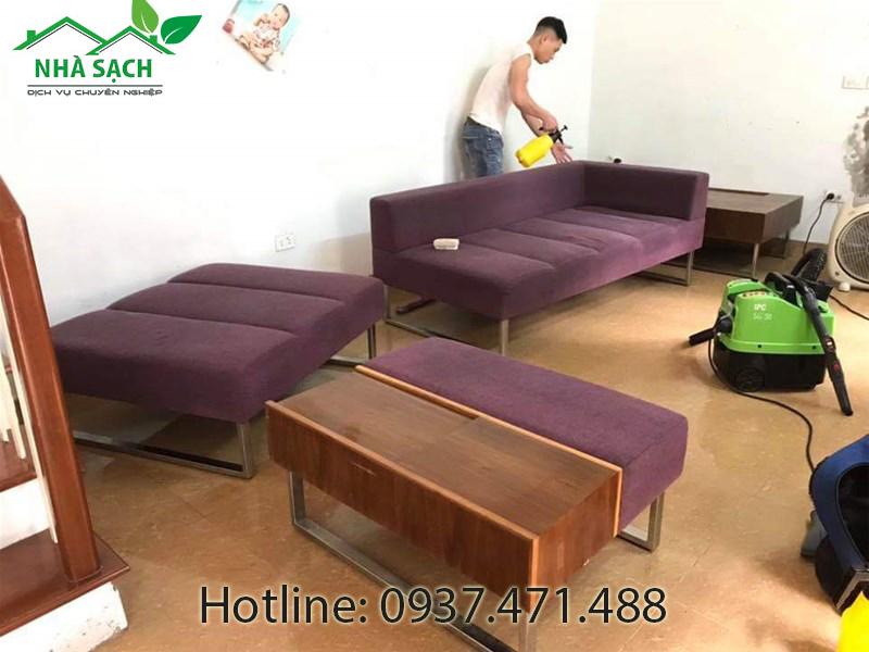 Dịch vụ vệ sinh giặt ghế sofa